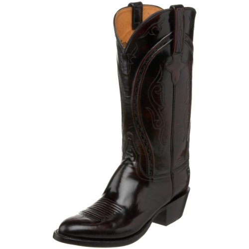 Lucchese Classics Men's L1509.63 Western Boot,Blackcherry,8 EE US