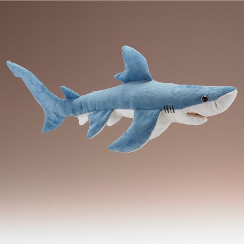Blue Shark Plush Toy By Wildlife Artists front-934533
