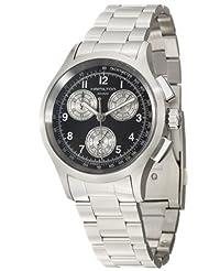 Hamilton Men's H76412133 Aviation Chronograph Black Dial Watch