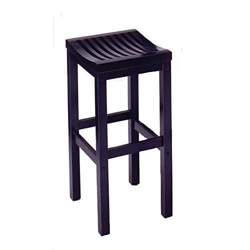 Home Styles 5641-88 Black Finish Bar Stool, 29-Inch