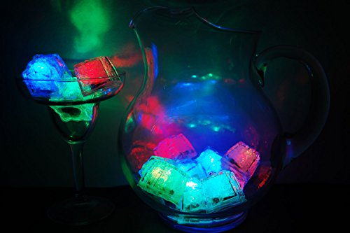 Set-of-12-Litecubes-Brand-8-Mode-MultiColor-RAINBOW-Light-up-LED-Ice-Cubes