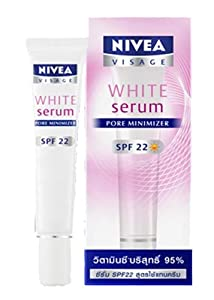 Nivea Visage White Serum Pore Minimizer SPF22 Vitamin C 95% l