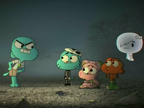 Halloween / The Ghost (Cartoon Halloween Movie)