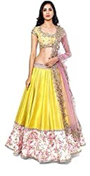 Shop Integrity Pink & White Threadwork Nylon Lehenga