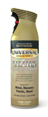 Rust-Oleum 400ml Universal Spray Paint - Pure Gold