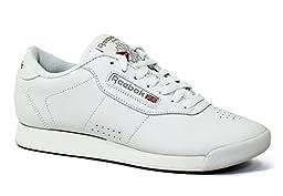 Reebok Women\'s Princess Aerobics Shoe,White, 7 M