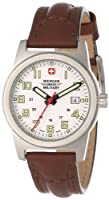 Wenger Swiss Military Women's 72920 Classic Field White Dial Brown Leather Military Watch from Wenger Swiss Military