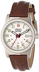 Wenger Swiss Military Women's 72920 Classic Field Stainless Steel Military Watch