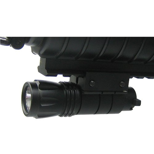 Ncstar Pistol And Rifle Led Flashlight / Weaver Mount (Aptf)