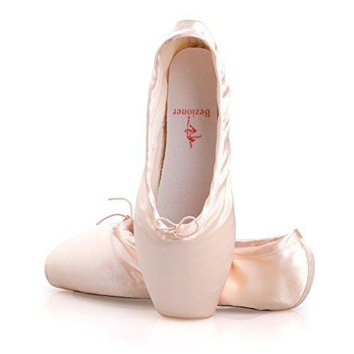 txj-donne-scarpe-per-danza-classica-raso-pacchetto-di-1-paio-di-pastiglie-punta-rosa-eu37-si-prega-d