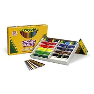 Crayola 240ct Colored Pencils Classpack 12 Colors