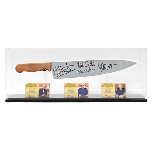 Jamie Lee Curtis, Nick Castle And John Carpenter Autographed Halloween Knife
