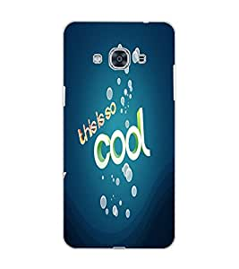 SAMSUNG GALAXY J3 PRO THIS IS SO COOL Back Cover by PRINTSWAG