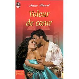 stuart - Voleur de coeur d'Anne Stuart 4193NFBS8SL._SL500_AA300_