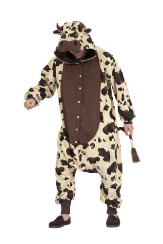 Adult Cow Costume Pajamas