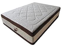 Hot Sale DynastyMattress NEW! 15.5-Inch Grand AtlantisBreeze Cool HD GEL Memory Foam Mattress-King Size