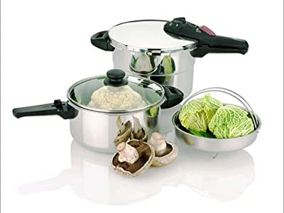 Fagor Pressure Cooker - Splendid Stainless Steel 2 in 1 918060714 from Fagor
