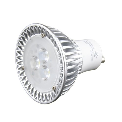 Hitlights 6 Watt Dimmable Mr16/Gu10 Warm White Led Bulb - 15 Year Lifespan, Replaces 40 Watt - 3000K, 330 Lumens, 110 Volts