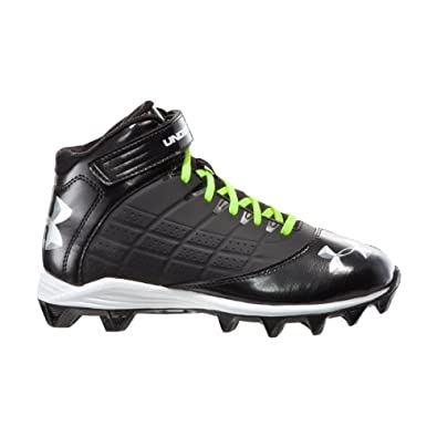 Buy Under Armour Boys' UA Crusher Mid Football Cleats by Under Armour