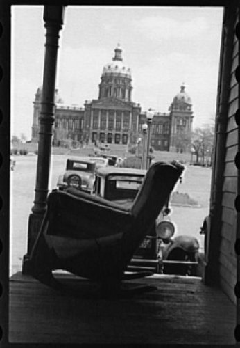 Photo State capitol, Des Moines, Iowa 1940