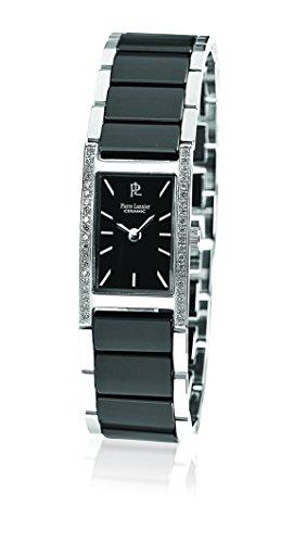 Pierre Lannier - 054J639 - Elegance Ceramique - Montre Femme - Quartz Analogique - Cadran Noir - Bracelet Céramique Noir