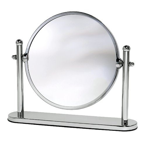 Gatco 1391 Magnified Table Mirror, Chrome front-825606