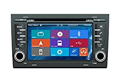 See Crusade Car DVD Player for Audi A4 2002-2008/ Seat Exeo Support 3g,1080p,iphone 6s/5s,external Mic,usb/sd/gps/fm/am Radio 7 Inch Hd Touch Screen Stereo Navigation System+ Reverse Car Rear Camara + Free Map Details