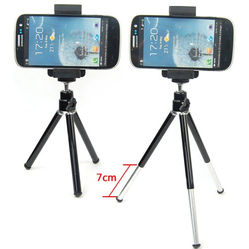 Estensibile treppiede monopiede Supporto culla Supporti per Samsung Galaxy S5/S4/S3/S2/S3 mini/S4 mini