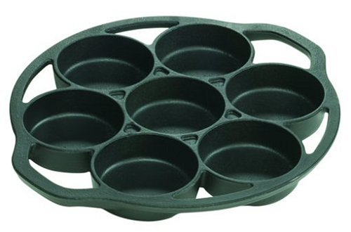 Lodge Logic L7B3 Pre-Seasoned Drop Biscuit Pan