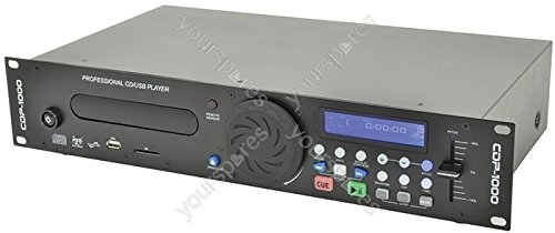 CDUSB-2 Rackmount CD/USB/SD lettore 2U