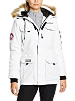 Geographical Norway Chaqueta Larga Alcatras (Blanco)