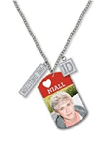 One Direction - Dog Tag Necklace Niall (in 16 inch)