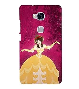 EPICCASE cindrella Mobile Back Case Cover For Huawei Honor 5X (Designer Case)