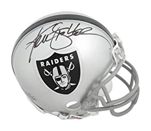 Ken Stabler Oakland Raiders Autographed Riddell Mini Helmet - Memories - Mounted... by Sports Memorabilia
