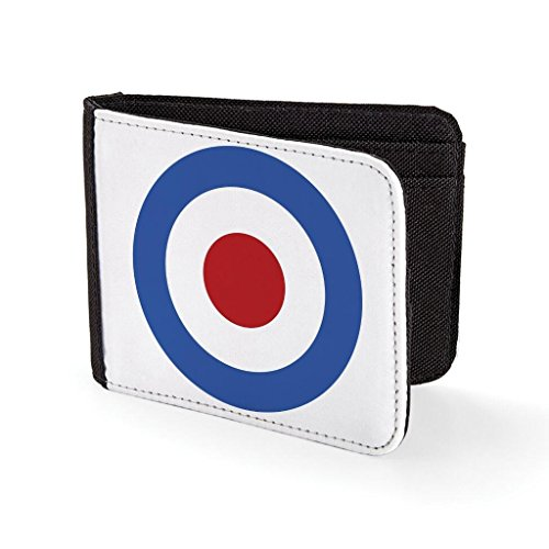 Roundel Target Mod Sublimation Printed Purse Card Holder Wallet (Target Wallet compare prices)