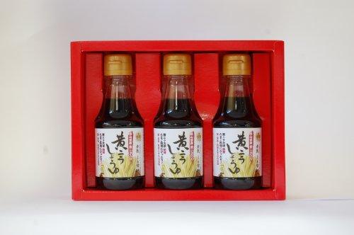 [Soy sauce brewing gung-ho 150 years: Kurashiki established Tiger sauce yellow Leek soy sauce set