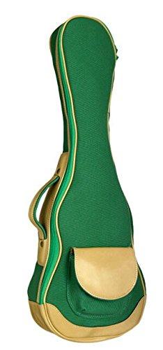 ウクレレケース ukulelecase 帆布バック UCB-C コンサート用 (グリーン)