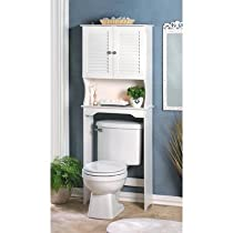 Bathroom Toilet Space Saver Storage Cabinet