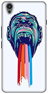The Racoon Lean Tripping Chimpanzee hard plastic printed back case/cover for Oneplus X