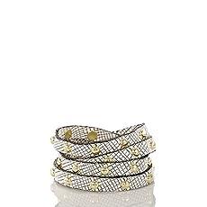 Stud Wrap Bracelet<br>Black Deco