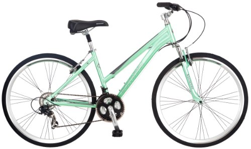Fantastic Deal! Schwinn Women's Siro 700c Hybrid Bicycle, Light Green, 16-Inch Frame