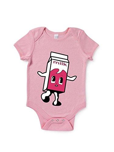 Little Milk Carton Baby Grow Cute Birthday Gift Present front-965676