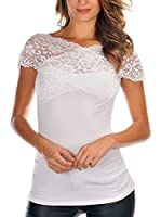 UNIQ Camiseta Manga Corta Levy (Blanco)