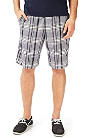 North Coast Pure Cotton Wide Striped Chino Shorts