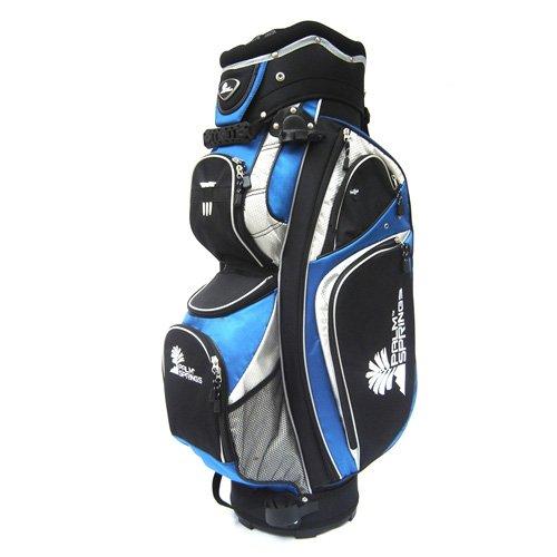 Golf cart bag full length dividers