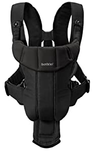 BABYBJORN Baby Carrier Active, Black