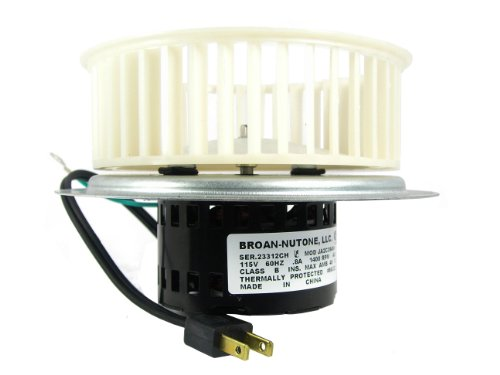 NuTone 0696B000 Motor Assembly for QT100 and QT110 Series Fans (Nutone Upgrade Kit compare prices)