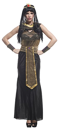 [EOZY Women Cleopatra Cosplay Party Outfits Halloween Costumes] (Cleopatra Outfit)