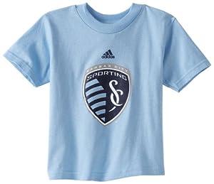 MLS Kansas City Wizards Team Logo Short Sleeve T-Shirt, 4-7 Boys by adidas