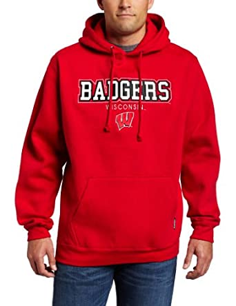 NCAA Wisconsin Badgers Triton Hooded Sweatshirt by CI Sport